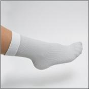 Compressana Unterzieh-Socke mit Silber
