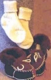 Kinderschafwollsocken