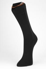 Personalisierbare Business Cotton - feinste Baumwollsocken, schwarz