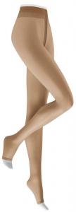 KUNERT Damenstrumpfhose mit offener Spitze FRESH UP 10 TOELESS (3 Stück)