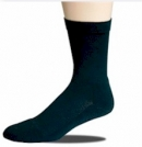 Socke ohne einschneidenden Gummirand Halbplüsch