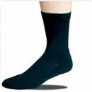 Socke mit leichtem Ripprand Halbplüsch