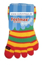 Toe Free® Kinderzehensocken bunt gestreift