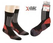 Allround Sport- und Trekking-Socken mit X-Static