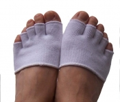 Toe Free® Mini-Zehensocken mit X-Silver - 2 Paar im Set