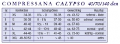 Compressana Calypso Kniestrümpfe - 40 den (Doppelpack)