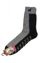 Anti-Rutsch Socken (ABS-Socken) mit Alpakawolle