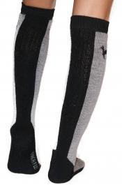 Warme Sportsocken - Ski-Kniesocken mit Alpakawolle