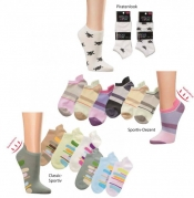 Computer-Sneaker-Kurzsocken superweich 3er Pack