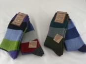 Wollsocken Fjord-Socken, 2er Pack