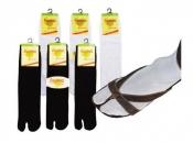 Sandalen-Socken Tabi-Socks / Samurei-Socks