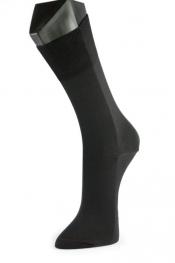 Personalisierbare Premium Merino-Wollsocken, schwarz