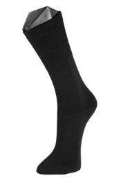 Personalisierte Double Face Socken - Baumwolle/Wolle, schwarz