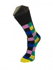 LINDNER® Fun Socks Karo