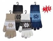 Smartphone-Handschuhe Norweger-Dessin